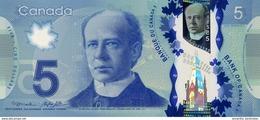 CANADA 5 DOLLARS 2013 P-106b UNC SIGN. MACKLEM & POLOZ [CA371b] - Canada