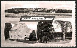 AK Maisborn, Ortsansicht, Pension Willi Braun - Unclassified