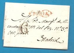 Espagne - SORIA (Soria) Pour Madrid (Castille) - 1818 - Espagne