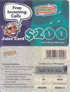 ZIMBABWE - Juice Card, Mango Recharge Card $200, Exp.date 14/02/03, Used - Zimbabwe
