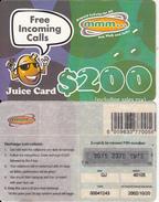 ZIMBABWE - Juice Card, Mango Recharge Card $200, Exp.date 20/10/02, Used - Zimbabwe
