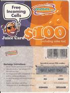 ZIMBABWE - Juice Card, Mango Recharge Card $100, Exp.date 09/04/03, Used - Zimbabwe