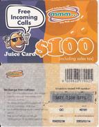 ZIMBABWE - Juice Card, Mango Recharge Card $100, Exp.date 14/02/03, Used - Zimbabwe