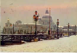 Venezia - Neve Al Molo - 299 - Formato Grande Viaggiata – E1 - Venezia
