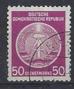 Germany (DDR) 1954  Dienstmarken (o) Mi.14 ND - [6] République Démocratique