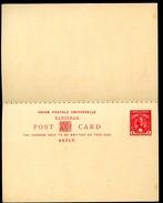 ZANZIBAR Postal Card With Reply #8 Mint Xf 1897 - Zanzibar (...-1963)
