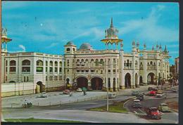 °°° 3792 - MALAYSIA - KUALA LUMPUR - RAILWAY STATION - 1977 With Stamps °°° - Malesia