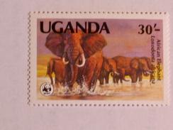 OUGANDA  1983   LOT# 6  ANIMAL  WWF - Ouganda (1962-...)