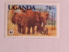 OUGANDA  1983   LOT# 8  ANIMAL  WWF - Ouganda (1962-...)