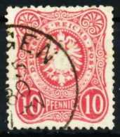 D-REICH K A Nr 33b Gestempelt X68AA9E - Allemagne