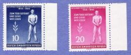 DDR SC #236-7 MNH 1955 Monument / Victims Of Fascism  CV $1.70 - [6] Democratic Republic