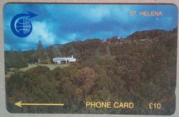 St Helena Phonecard 10 Pounds 1CSHC Mint - St. Helena Island
