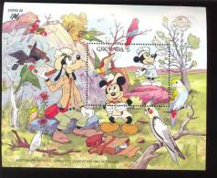 GRENADA   1646 MINT NEVER HINGED SOUVENIR SHEET OF DISNEY  ; SYDPEX ' 88   #  238-1 - Disney
