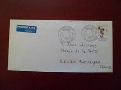 Mayotte Entier Postal 194-E1 10 Ans De Philatélie à Mayotte Avec Cachet Illustré De Mamoudzou Le 12/6/2007 Circulé    TB - Postal Stationeries & PAP