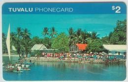 Tuvalu Phonecard $2 0ITIA Mint - Tuvalu