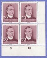 DDR SC #302 MNH B4 1956 Jakub Bart Cisinski, Poet  CV $3.40 - [6] Democratic Republic
