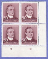DDR SC #302 MNH B4 1956 Jakub Bart Cisinski, Poet  CV $3.40 - Unused Stamps