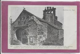 43 .- Environs Du PUY .- L' Ensemble De L' Eglise Monascale De SAINT-REMY ,Ce De Vergézac - Le Puy En Velay