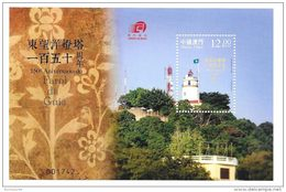 Macao Macau 2015 150th Anniversary Of Guia Lighthouse S/S MNH - Ongebruikt