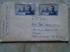 D149184  DDR  Germany COVER  1967  Stamp Max Reichpietsch -ElkeLarsen  Löbau - Briefe U. Dokumente