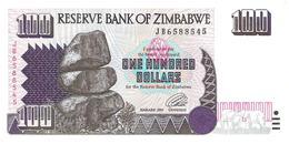 Zimbabwe - Pick 9 - 100 Dollars 1995 - Unc - Zimbabwe