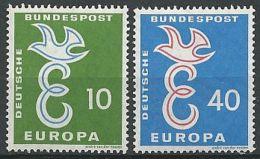 DEUTSCHLAND MI-NR. 295/96 ** MNH - CEPT 1958 - Europa-CEPT