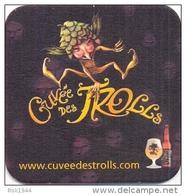 #D90-050 Viltje Cuvée Des Trolls - Sous-bocks