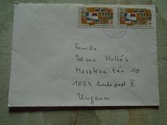 D149194    Germany COVER   1988 Rösrath  Stamp  100 Jahres Briefmarken Für Bethel - Briefe U. Dokumente
