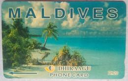 Maldives Phonecard Rf 20 5MLDA Mint - Maldives