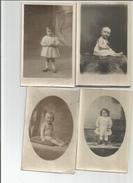 Lot  22 Cartes  Photos Enfants - Postcards