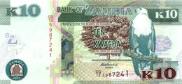 ZAMBIA 10 KWACHA 2014 P-51c UNC [ZM154c] - Zambia