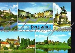 7-681 CZECHOSLOVAKIA 1970 Polabi Elbeland Melnik Castle Kolin Square Podebrady Brandys Nad Labem Nymburk - Other