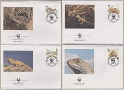 New Zealand- Michel 1160/1163 - WWF - O - FDC