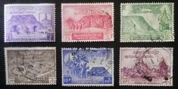 SEIS SELLOS DE BURMA - Myanmar (Burma 1948-...)