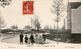 (24)  CPA  Romilly  Pont Du Chemin De Fer   (bon Etat) - Romilly-sur-Seine