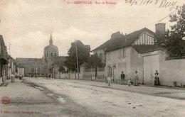 (24)  CPA  Dienville  Rue De Brienne   (bon Etat) - France