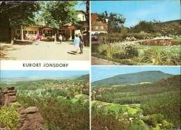Jonsdorf (kr. Zittau) Gaststätte Nonnenfelsen, Blick Zum Jonsberg Mehrbildkarte - Germany