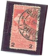 1913 ITALIE Y & T N° 96 ( O ) Surchargé - Usati