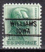 USA Precancel Vorausentwertung Preos Locals Iowa, Williams 819