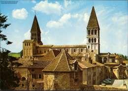 Tournus (Saone-et-Loire) Eglise Saint-Philibert - France