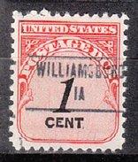USA Precancel Vorausentwertung Preos Locals Iowa, Williamsburg 853