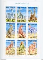 Angola 1998Faune Préhistorique-YT 1205/13***MNH-feuillet - Angola