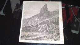 Affiche (gravure) - Vue Du Mont Aiguille, Dans Le Dauphiné - Affiches