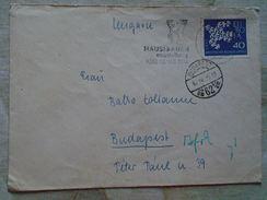 D149213  Germany COVER   1962   KIEL  - Hausfrauem Ausstellung  KIEL - Briefe U. Dokumente