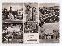 Germania - Monaco Di Baviera - Gruss Aus - Viaggiata Nel 1962 -  (FDC4285) - Muenchen