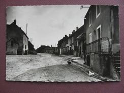 CPA PHOTO 71 SAINT EMILAND La Place 1960 RARE PLAN ? Canton AUTUN - Sonstige Gemeinden
