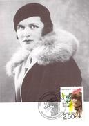 FRANCE CARTE MAXIMUM  NUM.YVERT 2752 MUSIQUE  GERMAINE TAILLEFERRE - Maximum Cards