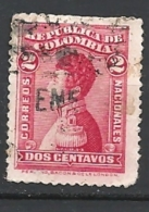 COLOMBIA  1917 PERSONALITE   USED          General Antonio Narino - Colombia