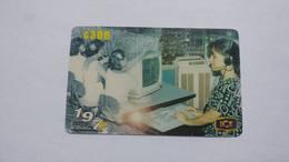 Costa Rica-servicio Colibri197-(prepiad Card 4)-(c300)-4/2000-used Card - Costa Rica