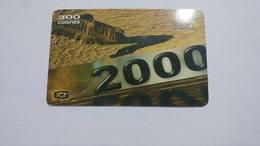 Costa Rica-servicio Colibri197-(prepiad Card 5)-(c300)-4/2000-used Card - Costa Rica